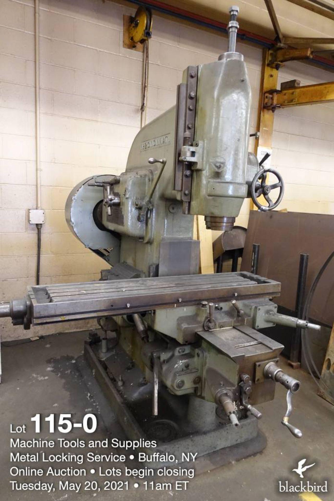 Cincinnati #2 knee type vertical milling machine