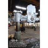 Cincinnati Bickford Super Service radial drill