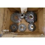 Lot of misc. milling cutters