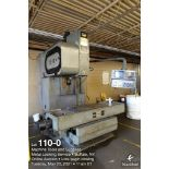 Toyoda FVN50 vertical machining center, CAT 50