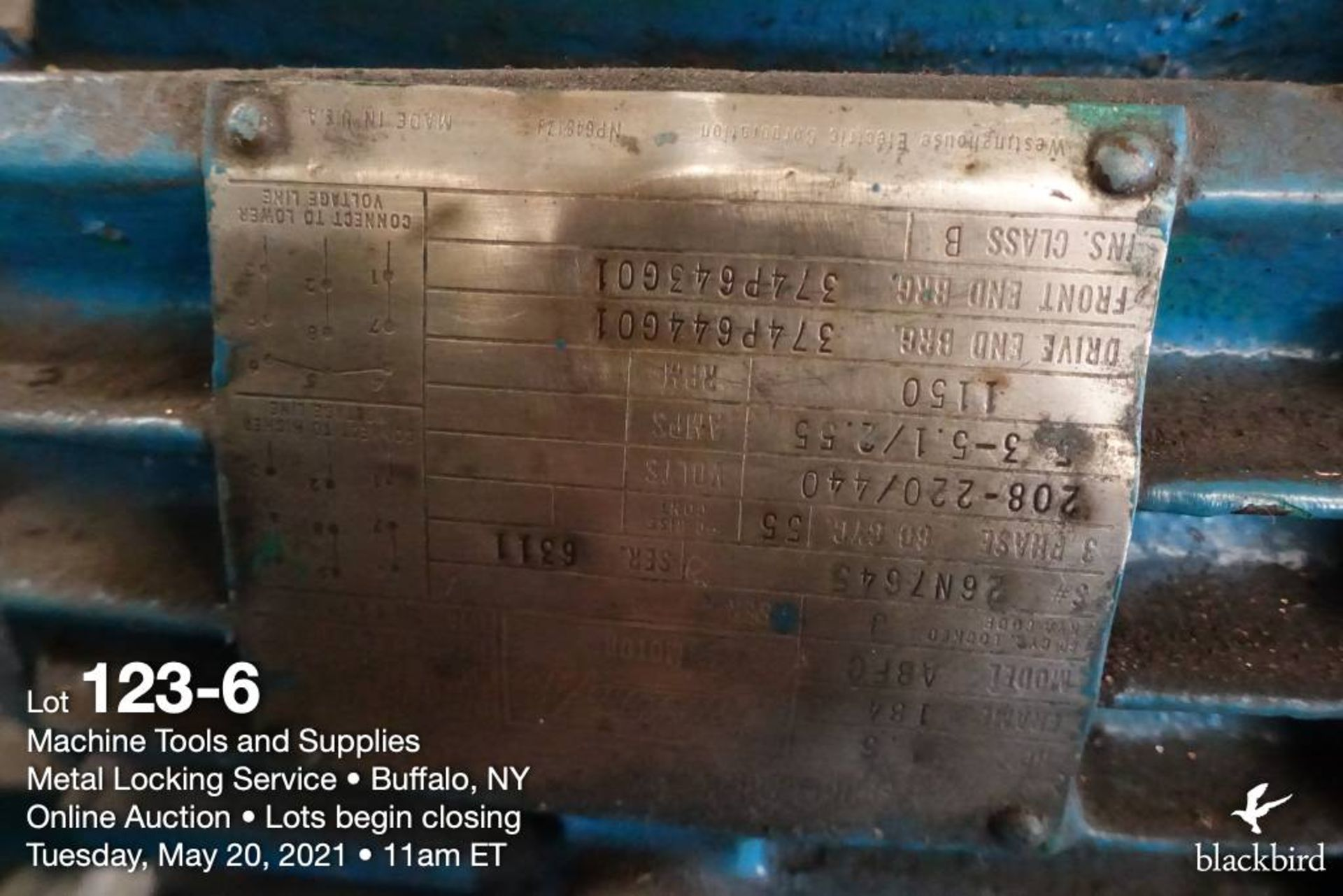 Cincinnati Bickford Super Service portable horizontal drilling machine - Image 7 of 7