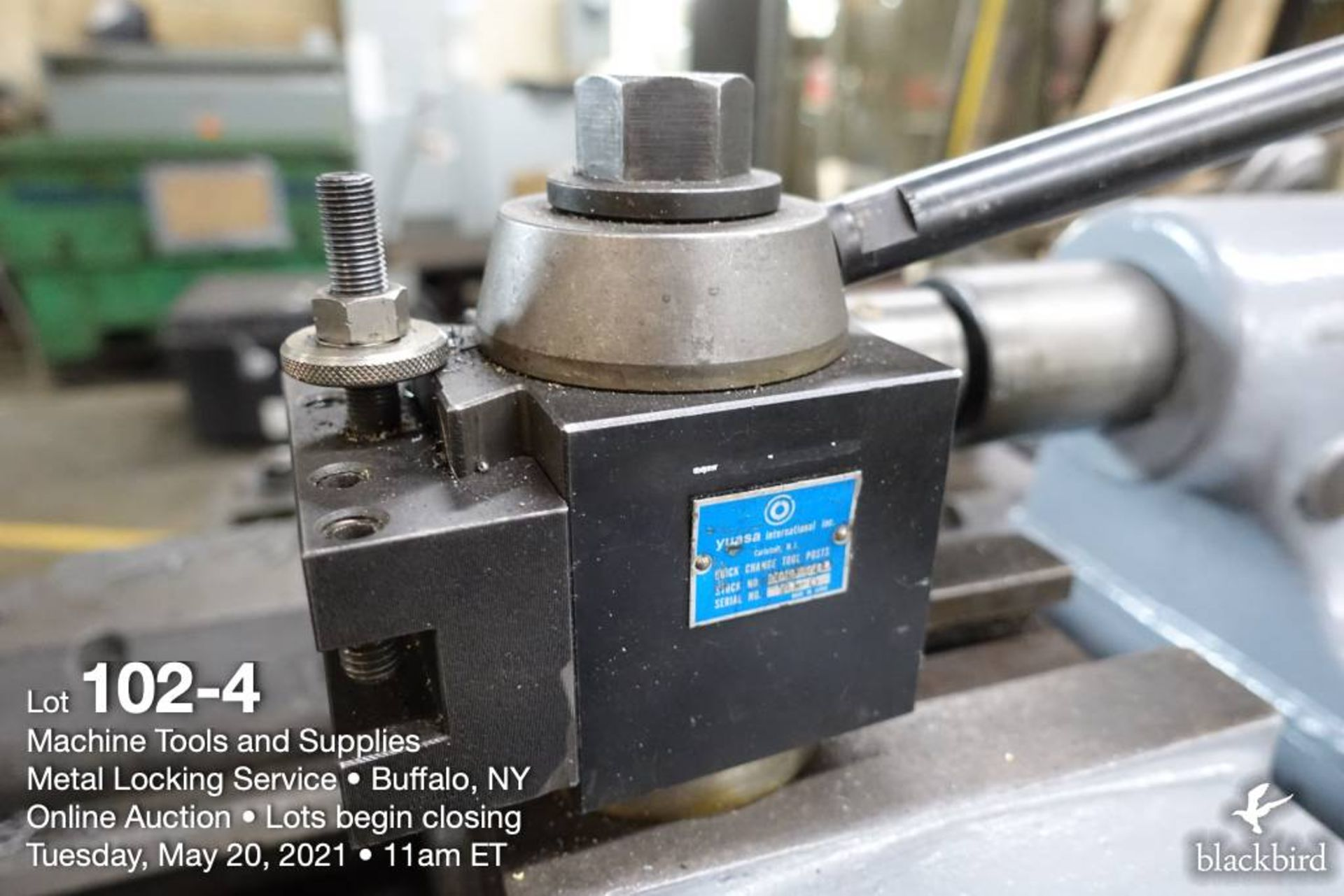 Reed-Prentice tool room lathe, Yuasa tool post - Image 5 of 7