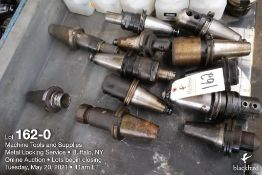 Lot of (12) misc. tool holders as photographed