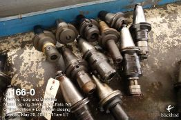 Lot of (11) misc. tool holders as photographed