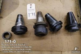 Lot of (4) misc. tool holders as photographed