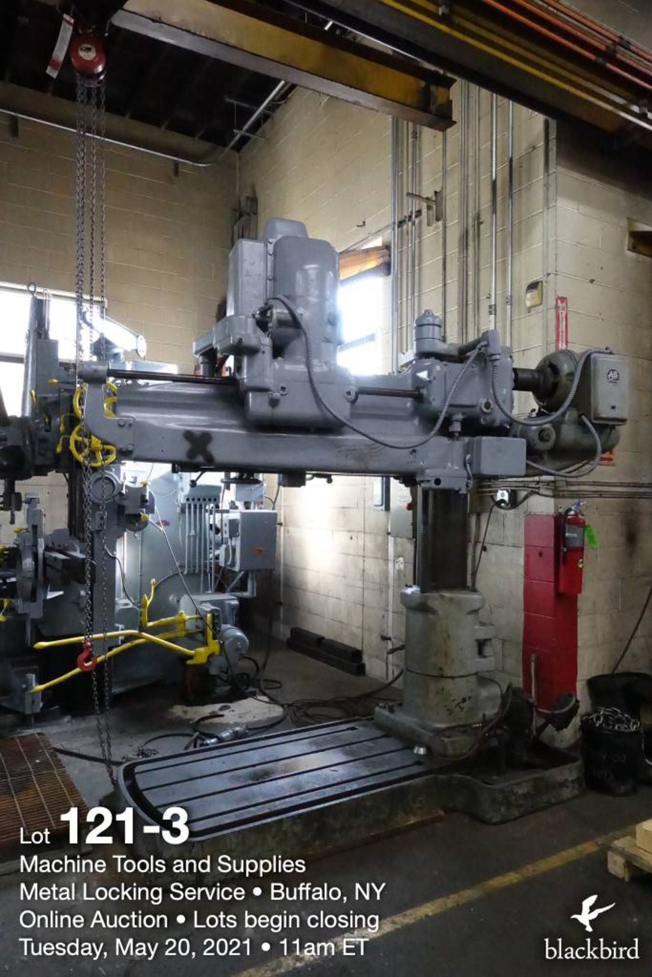 Cincinnati Bickford Super Service radial drill - Image 3 of 6