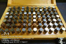 """Pin gauge set M-5 .751""""-.832"""""""