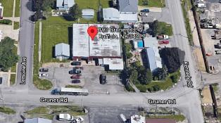 Shop building: 6900 sqft building on .47 acres in Cheektowaga (Buffalo), NY
