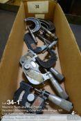 Lot of various micrometers