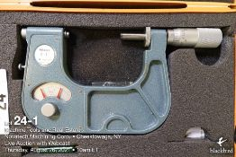 "Mitutoyo #510-107 2-3"" indicating micrometer"