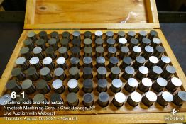 """Pin gauge set M-6 .833""""-.916"""""""