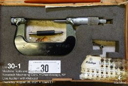 """Mitutoyo 2-3"""" pitch micrometer"""