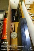Lot of miscellaneous metrology gauges