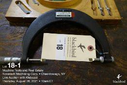 "Scherr Tumico blade micrometer, 2""-5"""