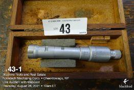 """Etalon bore gauge micrometer, .8""""-1"""""""