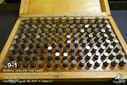 """Pin gauge set M-3 .501""""-.625"""""""