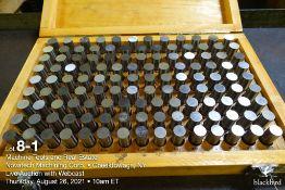 """Pin gauge set M-4 .626""""-.750"""""""