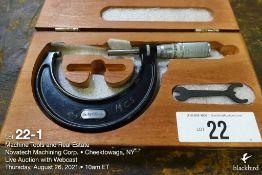 """Starrett #436 micrometer, 2-3"""" (standard)"""