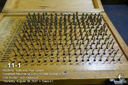 """Pin gauge set M-1 .061""""-.250"""""""