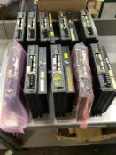 Lot of 10 Used/Refurb Kollmorgen-Cincinnati Milacron Drives