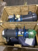 Lot of 2 NEW IN CRATE Nidec U5P2DCR Pumps
