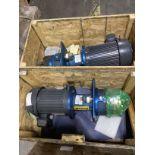 Lot of 2 NEW IN CRATE Nidec U5P2DCR Pumps