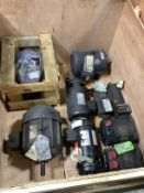Lot of Misc DC and Servo Motors