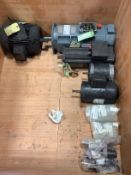 Lot of Misc/Refurb DC and Servo Motors