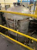 """46"""" Dia x 92"""" OAH Vulcanizer / Autoclave Unit w/ Control, Pot 563"""