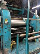 "Stewart Bolling & Co. 2 Roll Rubber Calendar Mill, 250 HP, 28"" Dia. x 72"" Long Rolls, Serial# 13092"