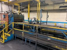 Rubber Cog Press Machine, Heavy Cast Iron Constr., w/ Hyd Unit and Controls