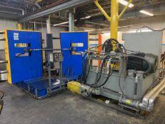 Rubber Stripper Press w/ 40 HP Hydraulic Unit and Allen Bradley Controls