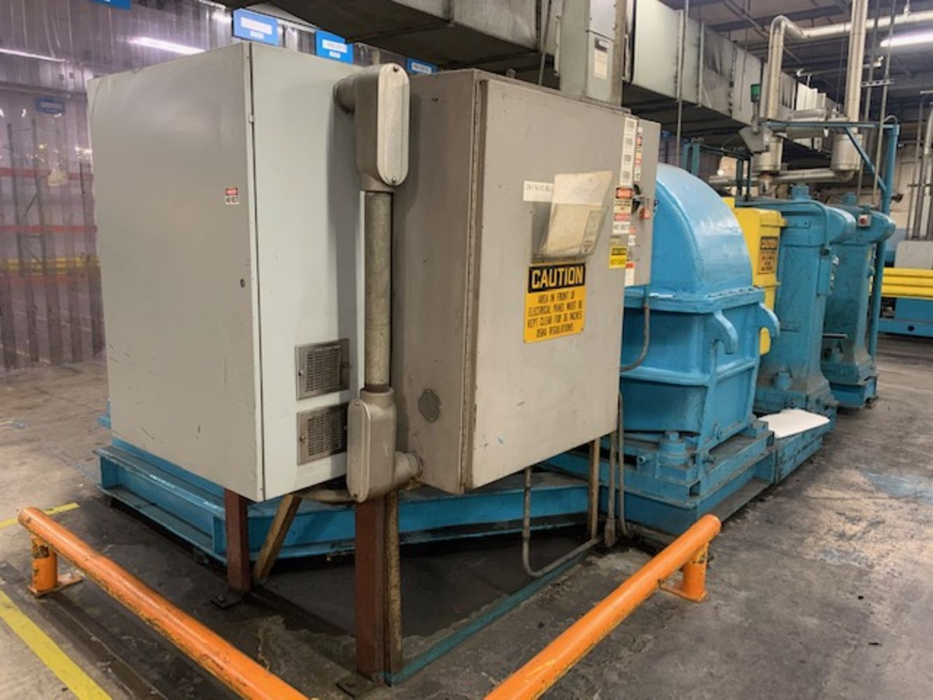 Day 1  Rubber MFG Equipment - Plant Liquidation - Manufacturer Closing Operations