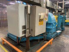 "Farrel 200HP Rubber 2-Roll Cracker Mill, 25"" Dia x 39"" Wide Rolls"