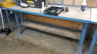 Heavy Duty Wood Top Work Table