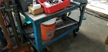 Heavy Duty Metal Cart *NO CONTENTS INCLUDED*
