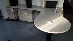 Office Desk w/Under Cabinets