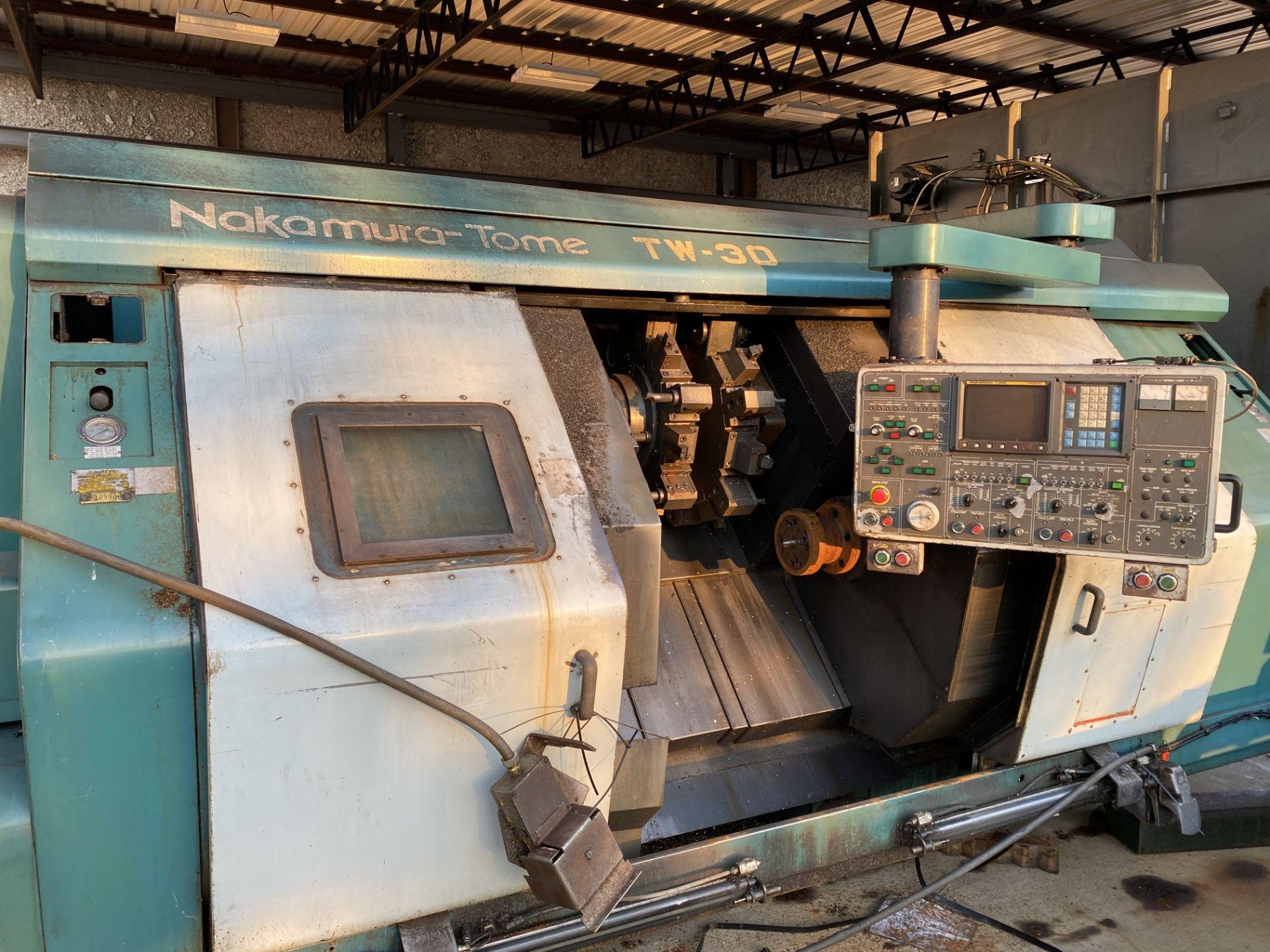 Nakamura-Tome #TW-30 CNC Lathe
