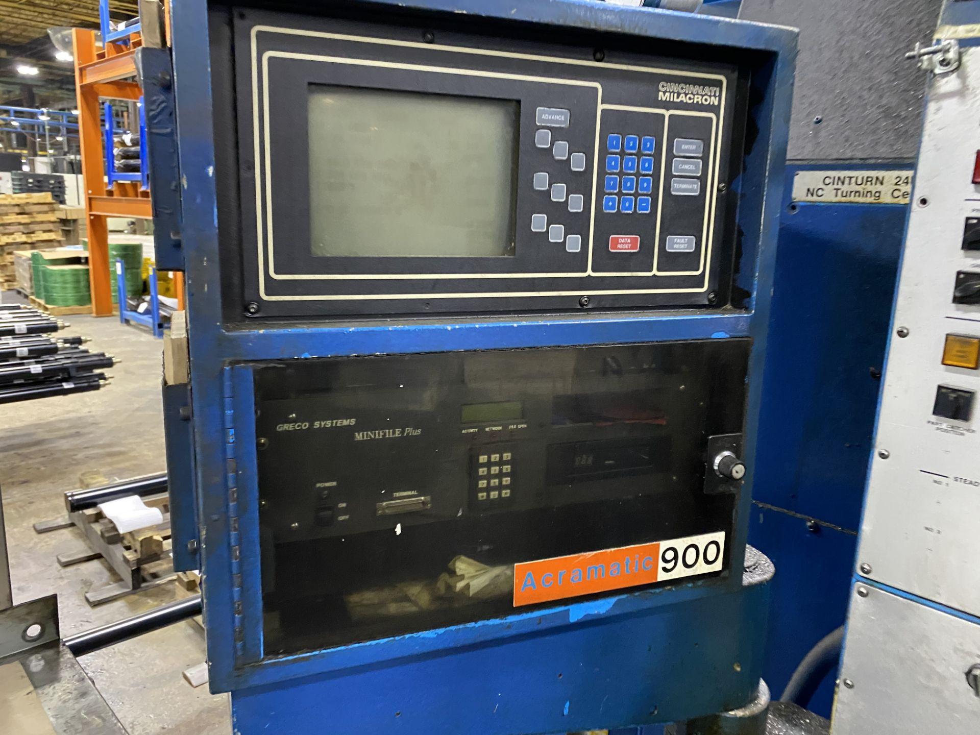 Cincinnati 24x60 Cinturn CNC Lathe - Image 2 of 8