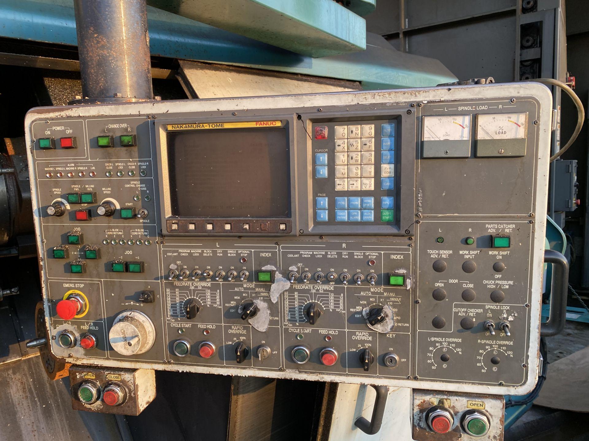 Nakamura-Tome #TW-30 CNC Lathe - Image 4 of 7