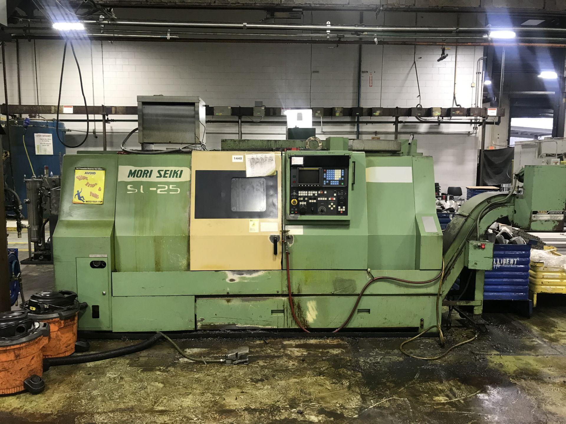 Mori Seiki SL-25B10 CNC Lathe