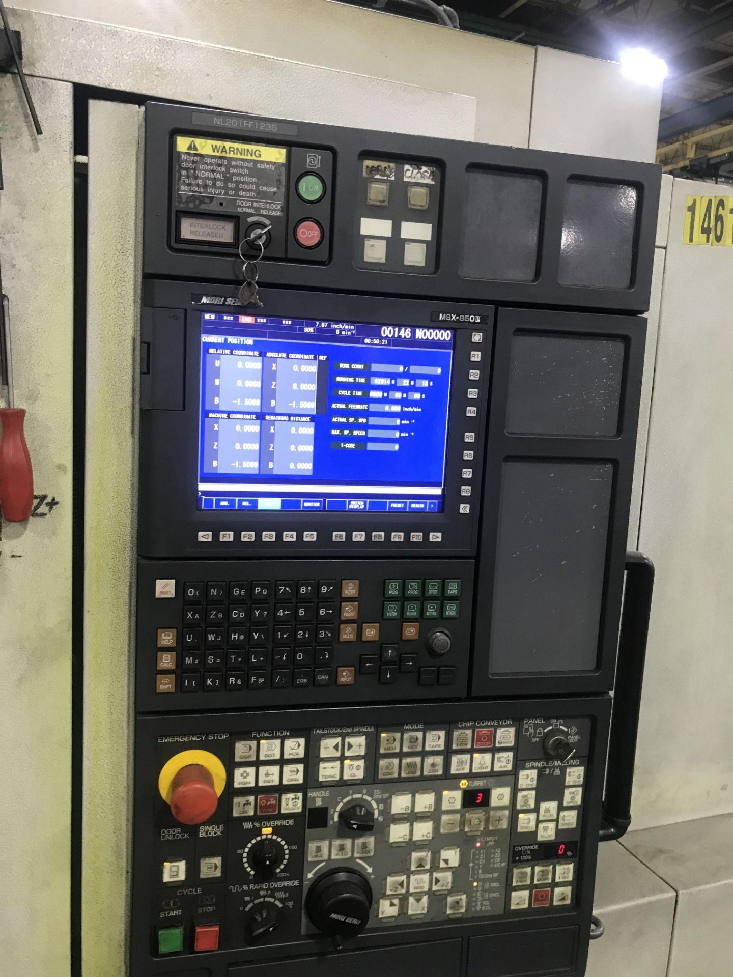 2008 Mori Seiki NL2000/500 CNC Turning Center - Image 7 of 8