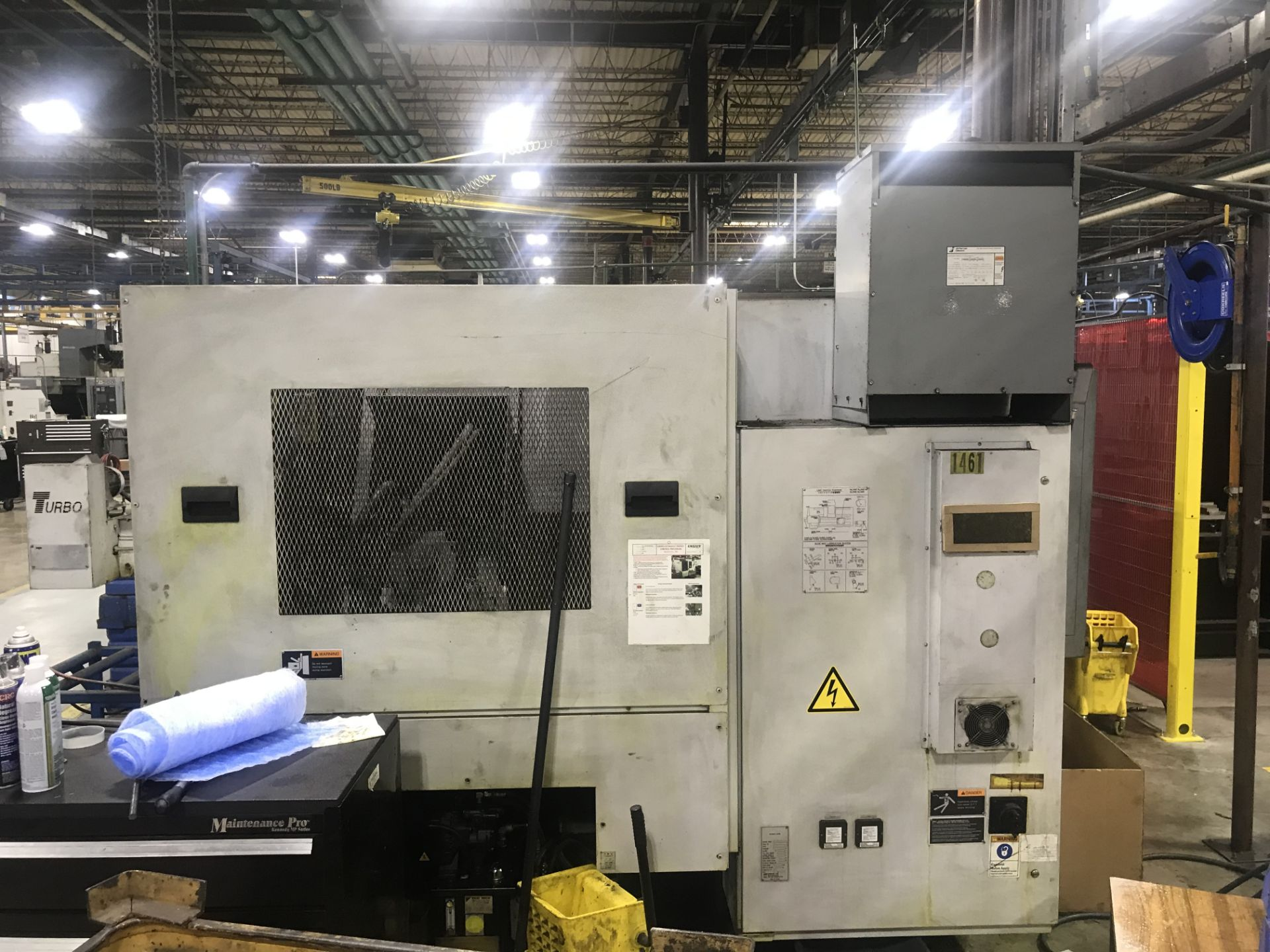 2008 Mori Seiki NL2000/500 CNC Turning Center - Image 4 of 8