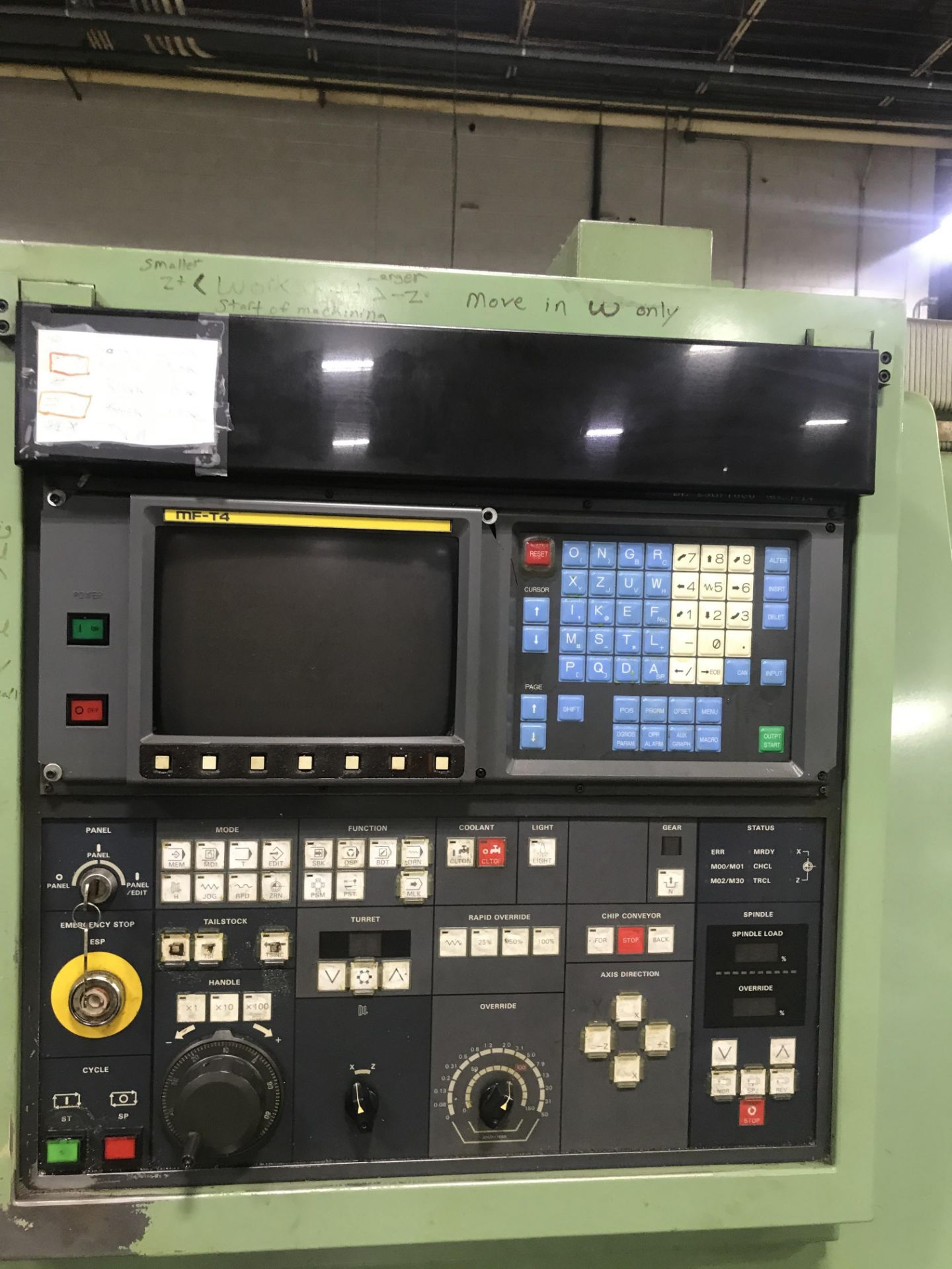 Mori Seiki SL-25B10 CNC Lathe - Image 7 of 8