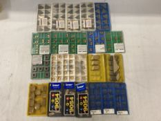 Lot of (215) New? Misc Carbide Inserts