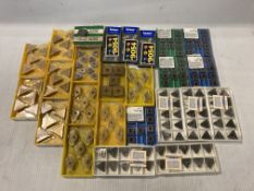 Lot of (210) New? Misc Carbide Inserts