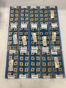 Lot of (150) New? Valenite Carbide Inserts, P/N: CNMG 543GM SV525