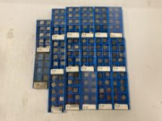 Lot of (163) New? Valenite Carbide Inserts, P/N: SPC 322 VC7