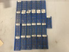 Lot of (250) New? Valenite Carbide Inserts, P/N: CPMW 32.51 VC919