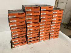 Lot of (42) Timken Roller Bearings, P/N: NP564994